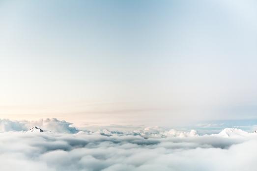 Canva - Cloudy Sky